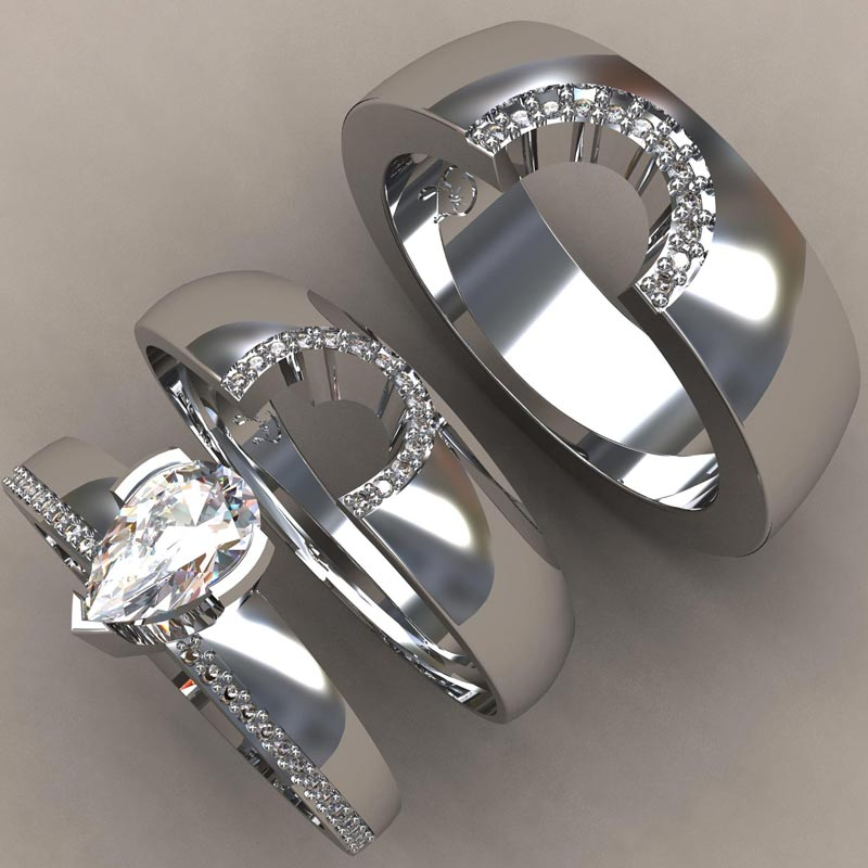 Greg Neeley Design Custom Wedding Rings And Jewelry Austin Texas